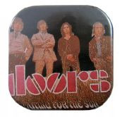 The Doors - 'Waiting for the Sun' Square Badge
